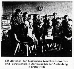 Schülerinnen Dortmund 1937