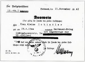 Ausweis angehörige LS Polizei Dortmund